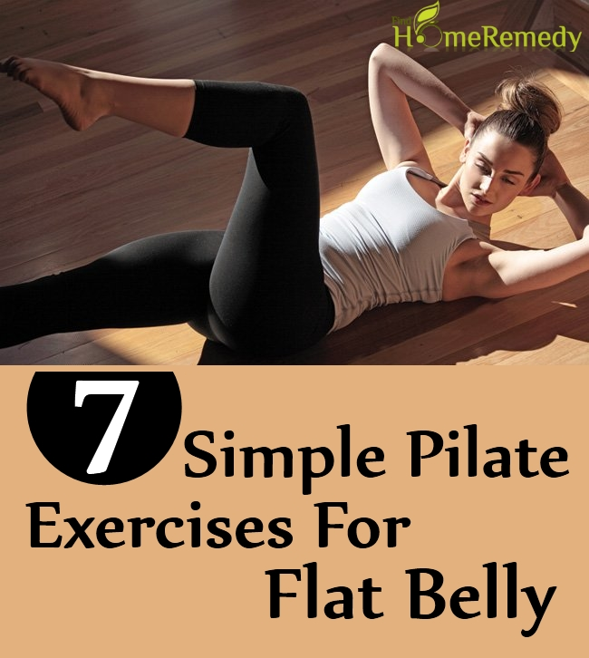 7 Simple Pilate Exercises For Flat Belly