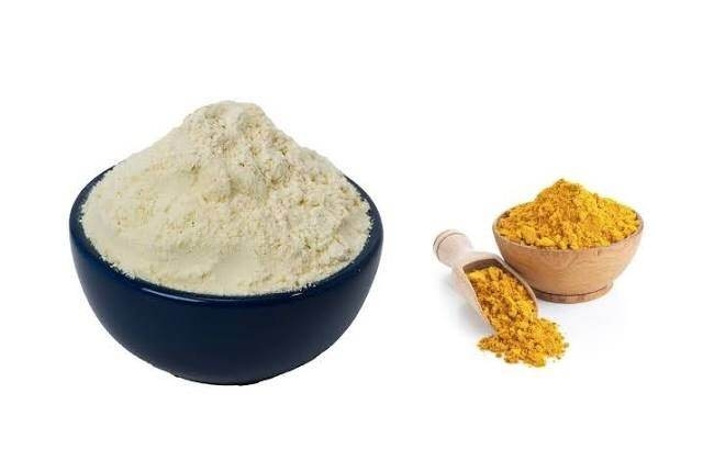 Turmeric Gram Flour Mask