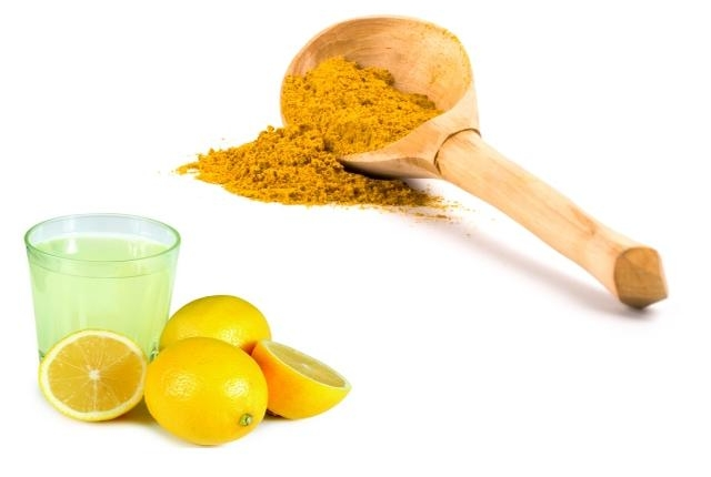 Turmeric And Lemon Juice