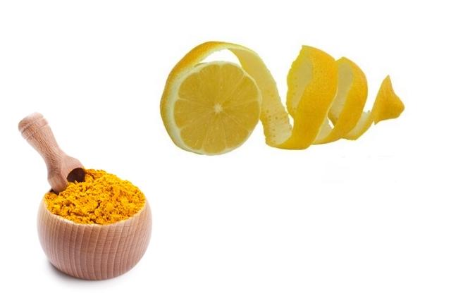 Turmeric Lemon Peel