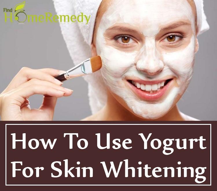 How To Use Yogurt For Skin Whitening