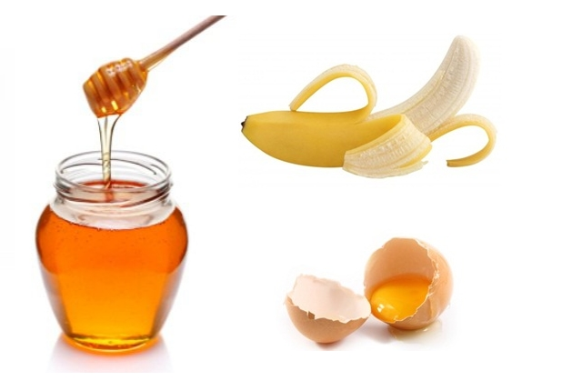 Honey, Banana And Egg Yolks