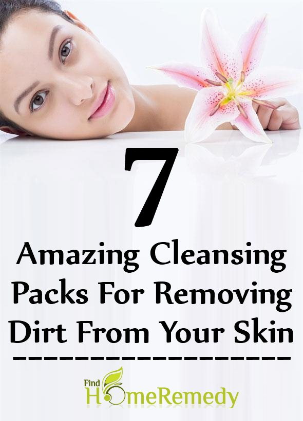 Cleansing Packs For Removing Dirt From Your Skin