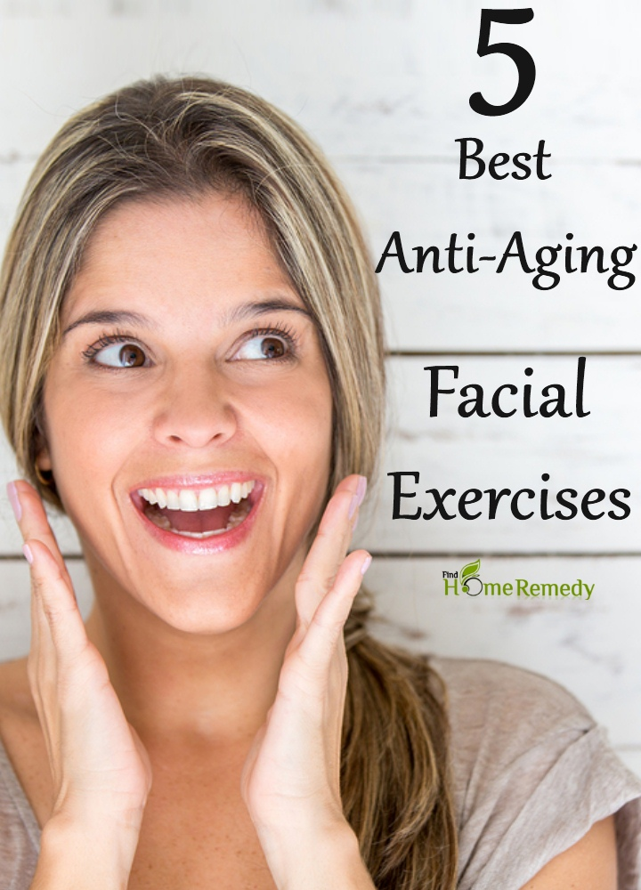 Anti-Aging Facial Exercises