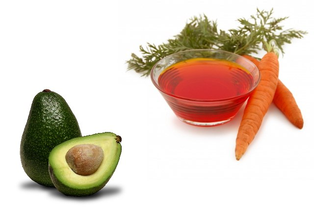 Carrot Oil And Avocado Hair Mask