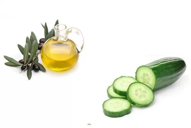 Cucumber And Olive Oil Face Mask