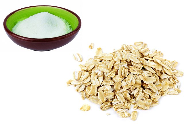 Epsom Salt And Organic Rolled Oats