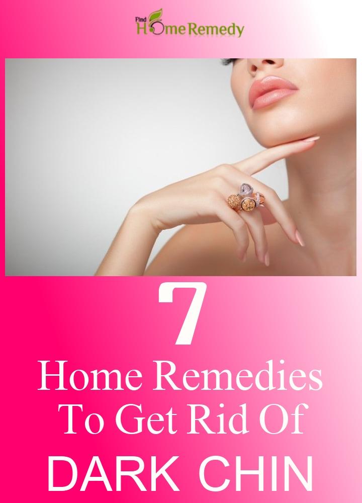 Remedies To Get Rid Of Dark Chin