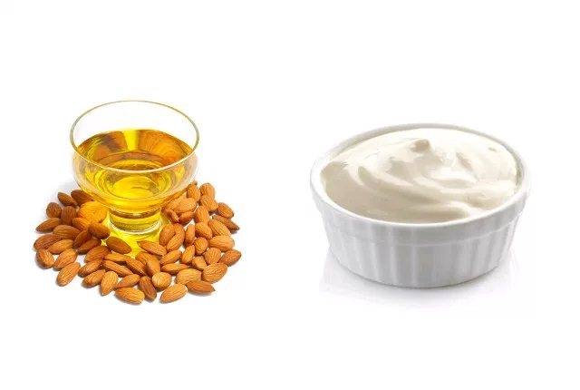 Mayonnaise And Almond Oil Pack