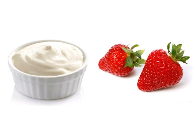 Mayonnaise And Strawberries Pack