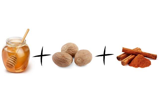 Nutmeg With Honey And Cinnamon