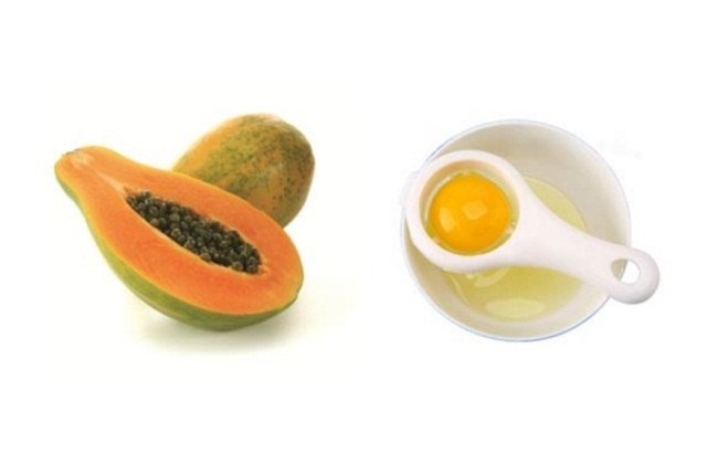 Papaya With Egg White