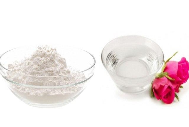 Rosewater And Baking Soda