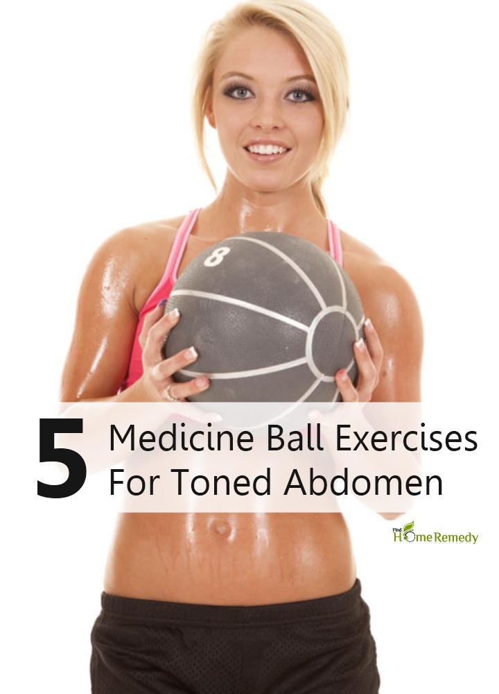 Amazing Medicine Ball Exercises For Toned Abdomen