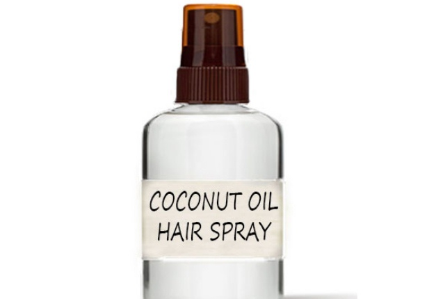 Coconut Oil Hair Spray