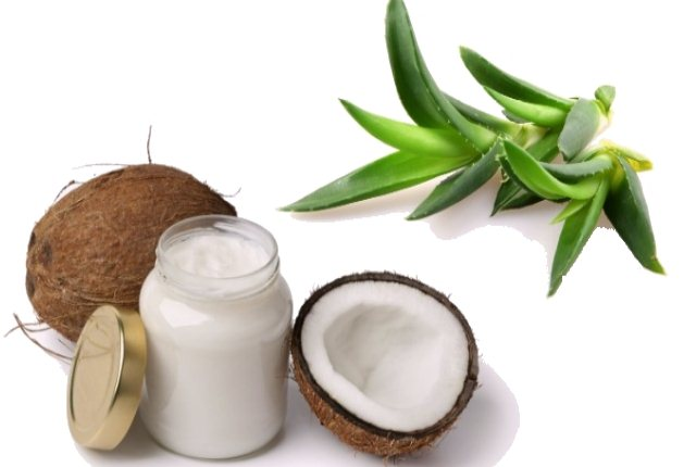 Aloe Vera And Coconut Oil