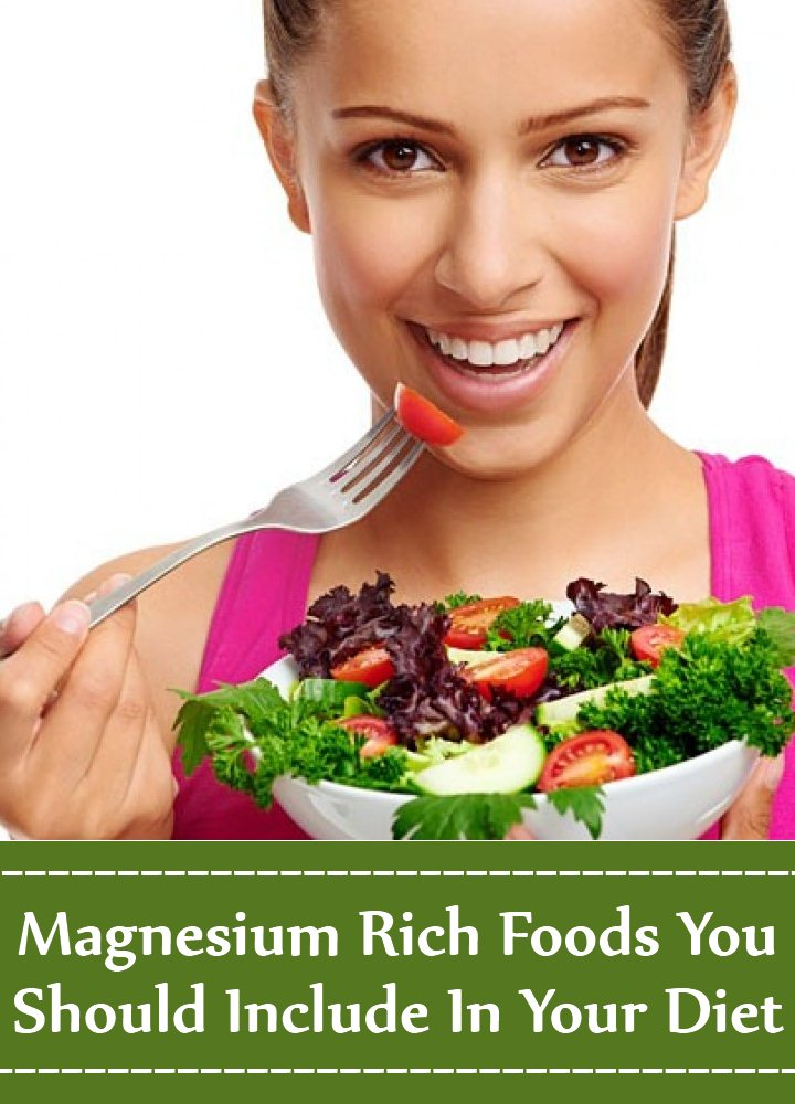 Magnesium Rich Foods You Should Include In Your Diet