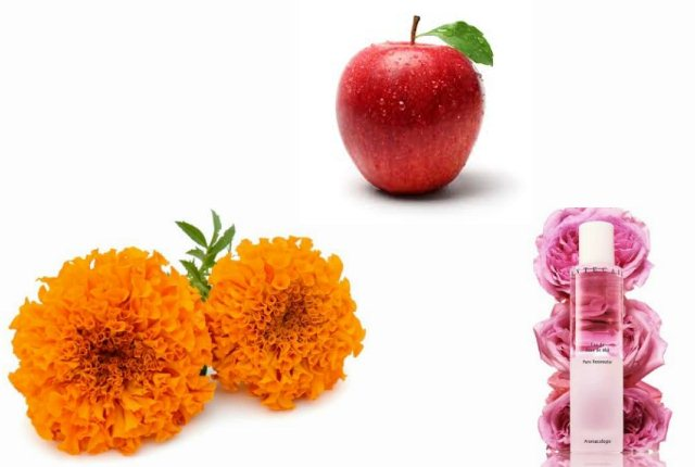 Marigold With Rosewater And Apple