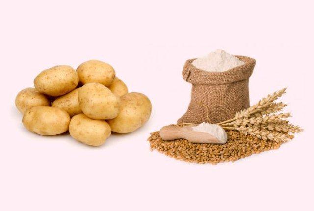 Potato With Gram Flour