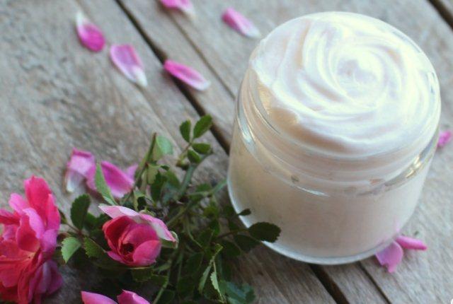 Rose Oil And Cream
