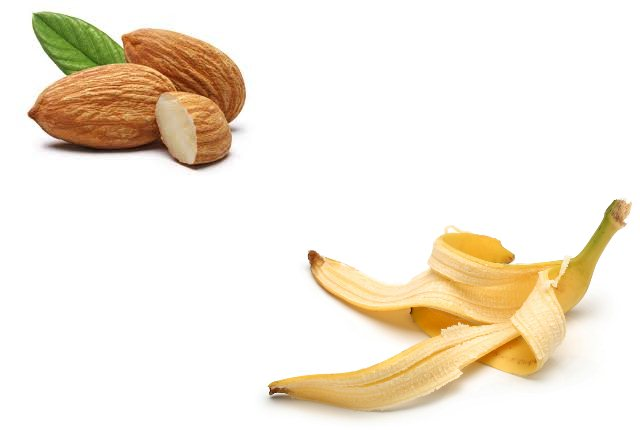 Banana Peel And Almond Face Pack