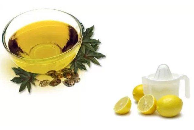 Castor Oil - Lemon Juice Face Mask