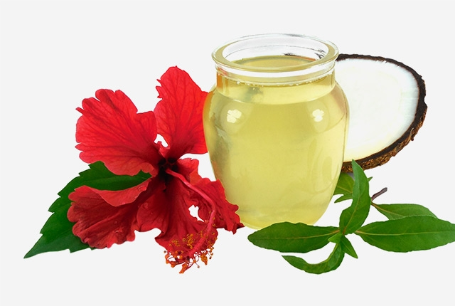 Hibiscus Infused Hair Oil