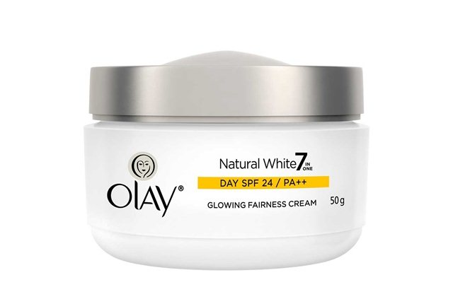 Olay Natural White 7 in ONE  Glowing Fairness Cream SPF 24