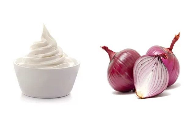 Onion Juice And Mayo Hair Mask