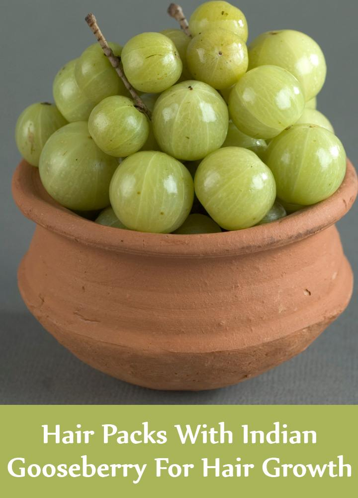 Hair Packs With Indian Gooseberry For Hair Growth