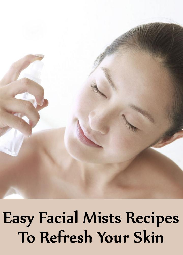 5 Easy Recipes Of Facial Mists You Can Try To Instantly Refresh Your Skin