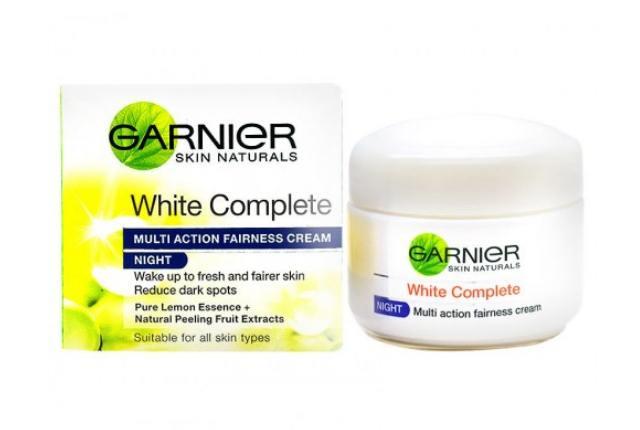 Garnier White Complete Multi Action Fairness Cream - Night