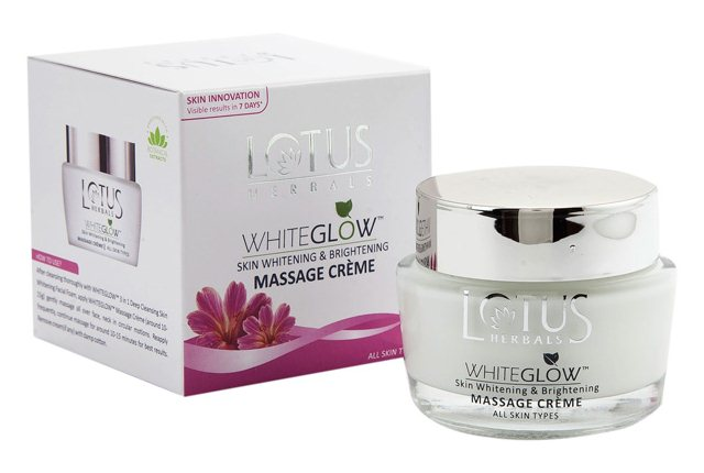 Lotus Herbals Whiteglow Skin Whitening And Brightening Massage Cream