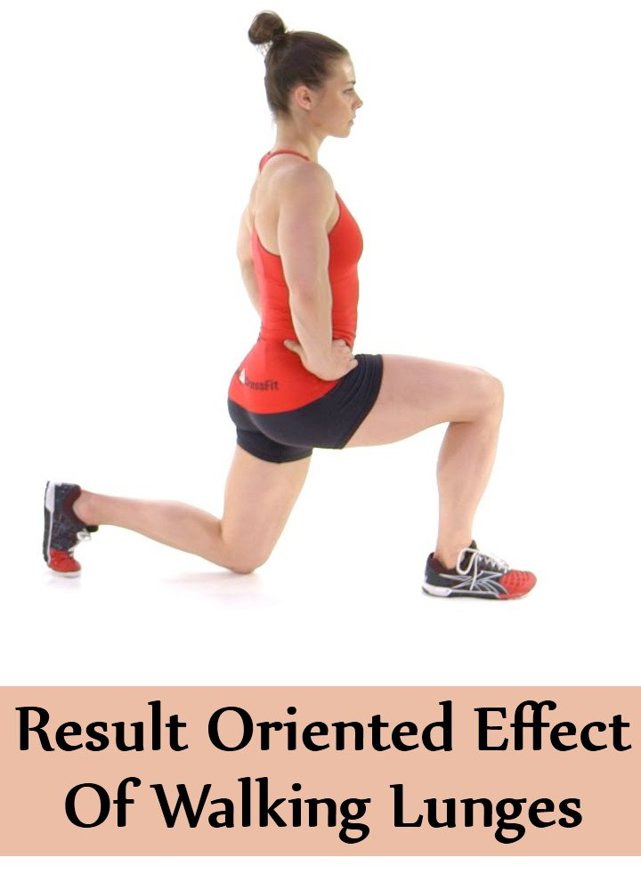 Result Oriented Effect Of Walking Lunges
