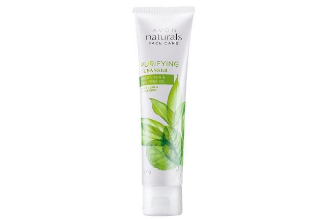 Avon Naturals Green Tea And Tea Tree Oil Purifying Cleanser