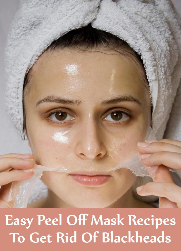 5 Easy Peel Off Mask Recipes To Get Rid Of Blackheads
