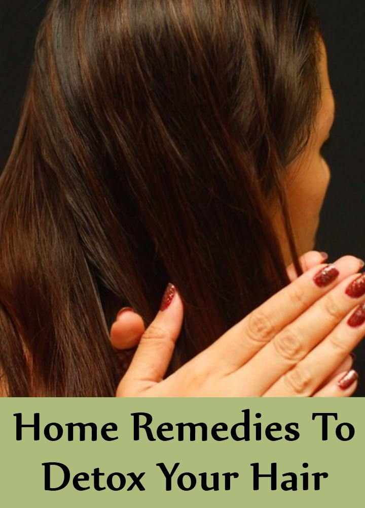 5 Simple Home Remedies To Detox Your Hair