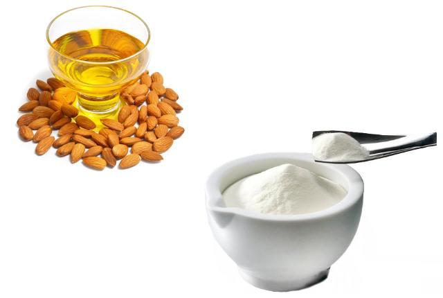 Milk Powder And Almond Oil Mask