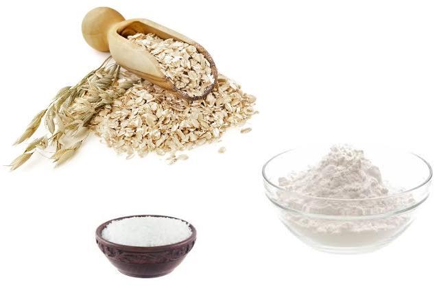 Oatmeal Bath With Baking Soda And Epsom Salt
