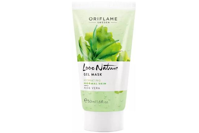 Oriflame Sweden Love Nature Gel Mask Aloe Vera Face Wash