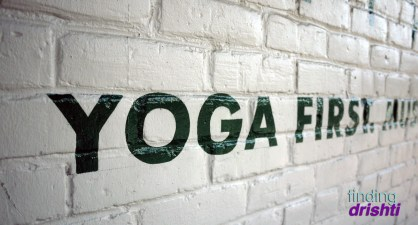 Yoga First. - Wanderlust Live