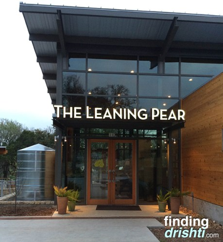The Leaning Pear