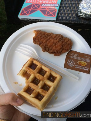 Chicken & Waffles, among other brown foods
