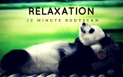 RELAX !  10 minute Body Scan Relaxation