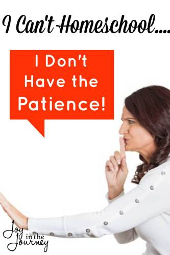 Believe it or not, you do not need a lot of patience to homeschool. Homeschooling, however does require three things that I can almost guarantee you are qualified to do.