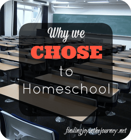 chose to homeschool