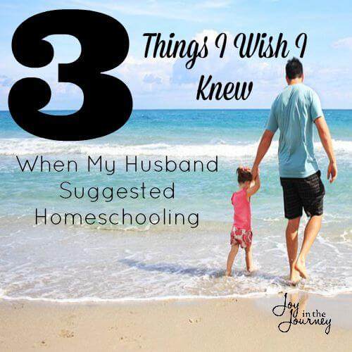When My Husband Suggested Homeschooling