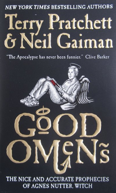 Read something new with 25 books in 8 different genres - Good Omens