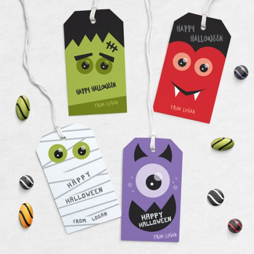 Halloween tags by orangevalentine