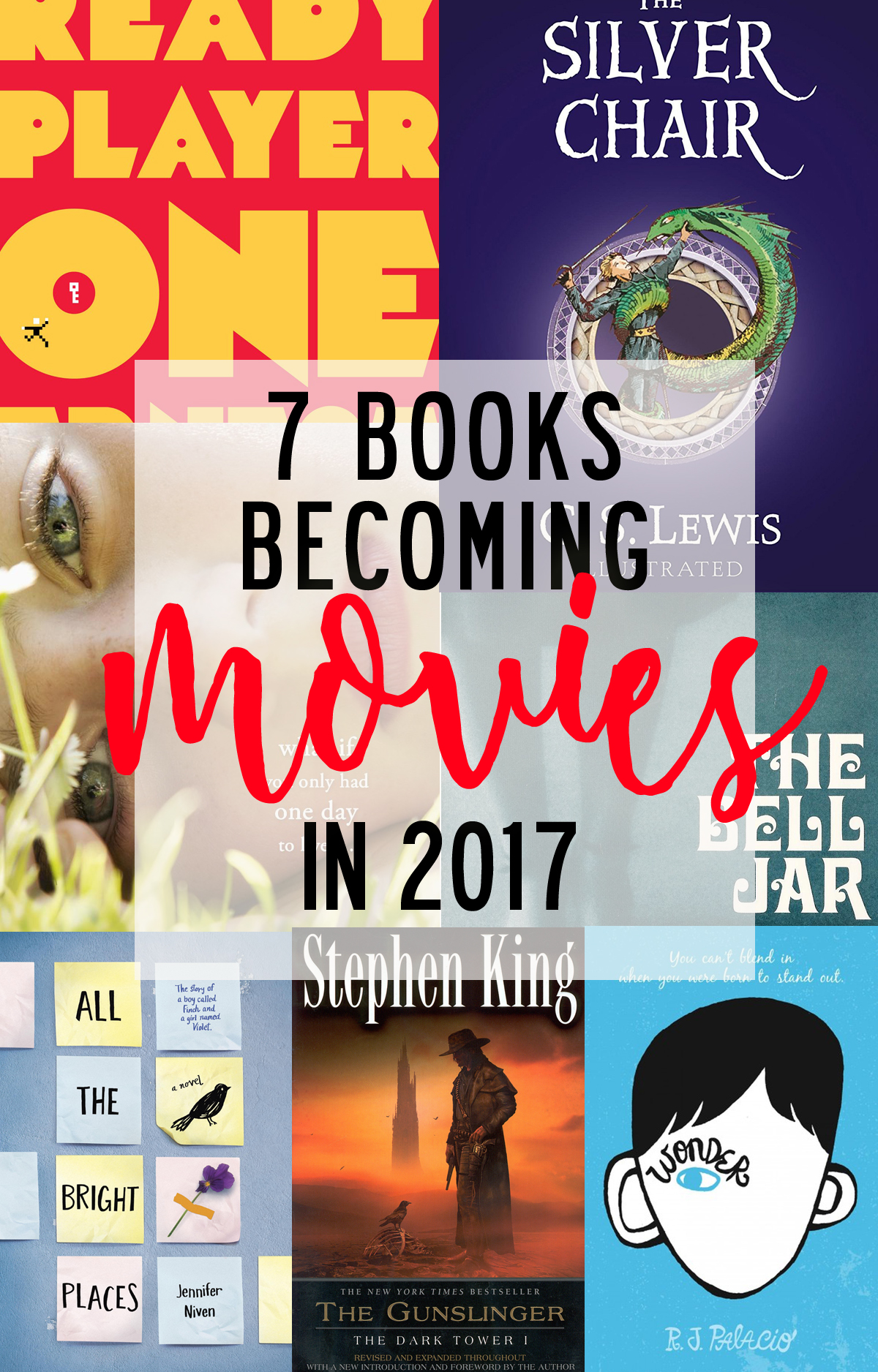 books becoming movies in 2017